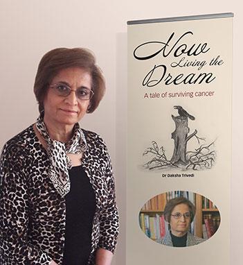 Now Living the Dream by Dr Daksha Trivedi
