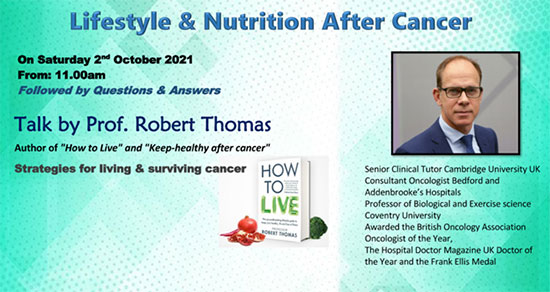 Lifestyle & Nutrition After Cancer